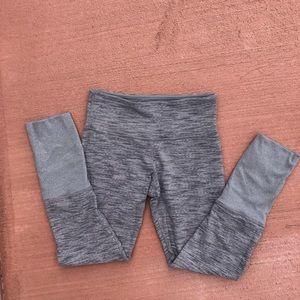 Lululemon Grey Wee Stripe Leggings - RARE